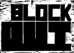 BLOCK_OUT-Linocut