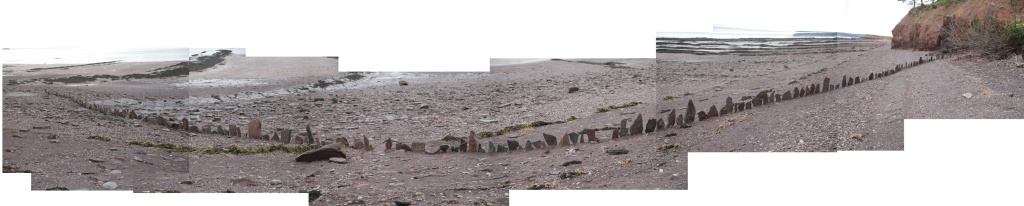 Fault Line. An ephemeral, site-specific installation and durational performance. Created August 31 2013.