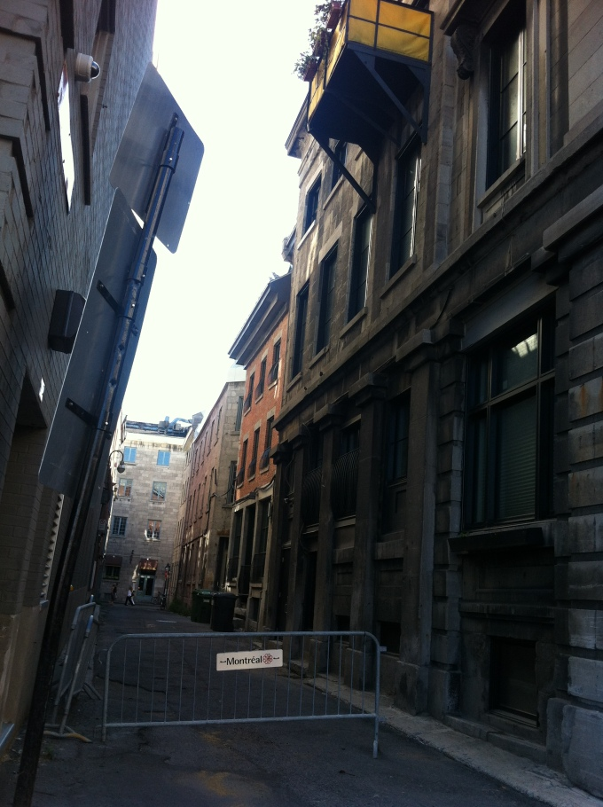 a side street; love the buildings