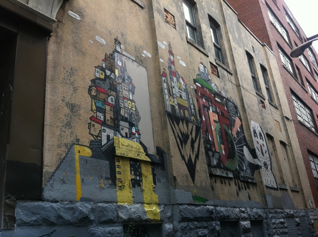 another alley artwork