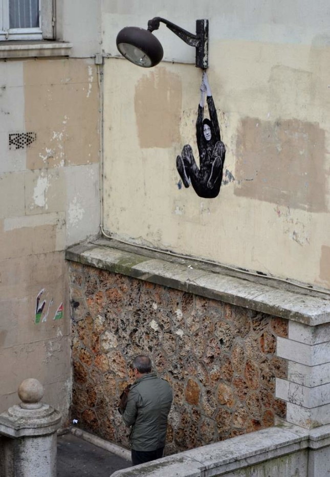 the urban theater Levalet 11