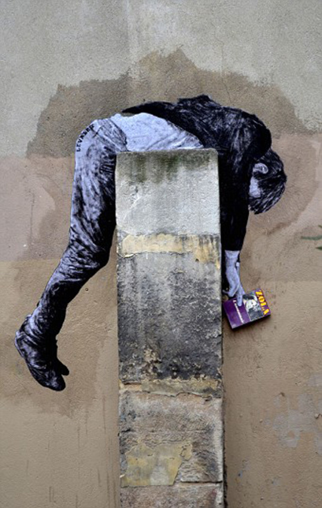 the urban theater Levalet 17