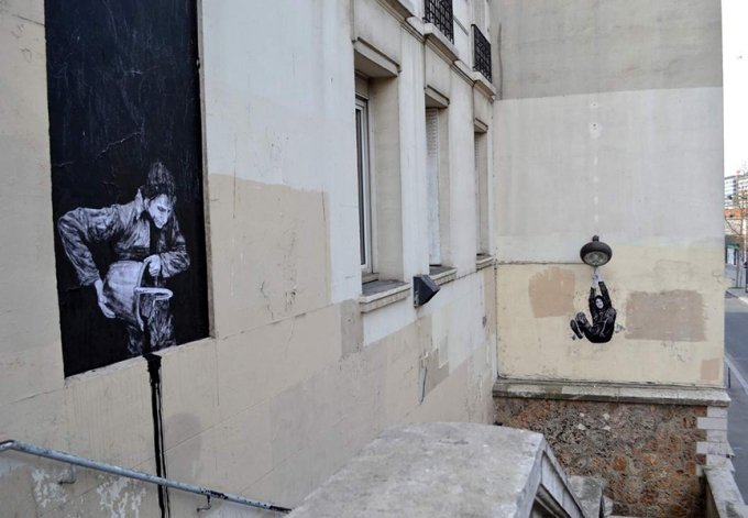 the urban theater Levalet 2