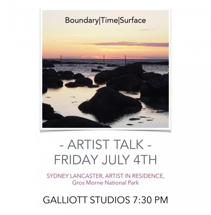 Final Artist Talk