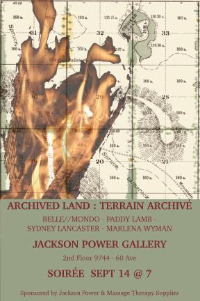 Archived Land – TerrainArchivé